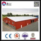 금 유리제 커튼 (BYSS051603)를 가진 채광 강철 구조물 작업장