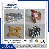 Máquina de estaca Lm4020h3 do laser da fibra do metal do CNC com proteção cheia