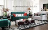 居間の家具のためのファブリックソファーの/Woodのソファー