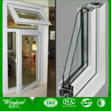 Doppia finestra della stoffa per tendine di vetro Tempered UPVC