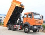 Beiben 10 de Vrachtwagen van de Stortplaats van Benz van het Noorden van de Vrachtwagen van de Kipper van Wielen