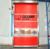 Rapides automatiques de PVC d'atelier en gros d'emballage enroulent des portes