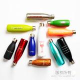 Edelstahl-Wasser-Flaschen-Schwellen-Art-Vakuumflaschen-Sport-Flasche
