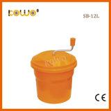 Sb-12L Scherpe Kom van de Groente van de Salade van de Hulpmiddelen de Plastic pp van de salade 12L