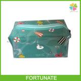 Bolso plástico transparente de la belleza del PVC para el regalo