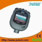 Contador de tiempo impermeable profesional del cronómetro de la exhibición del LCD (JS-509A)