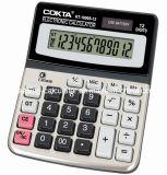 Calculatrice électronique de bureau 12 chiffres, l'alimentation calculatrice solaire (KT-1800S)