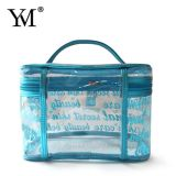 Hot Sale Commerce de gros transparent de voyage promotionnel Cosmetic Toiletry Sac de maquillage