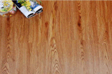 Innen- und kommerzielles hölzernes Korn, das Lvt Belüftung-Vinylfußboden blockiert