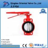 China-Hersteller Dn400 flanschte doppeltes Exzenterdrosselventil