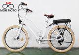 Retro 바닷가 함 고아한 뚱뚱한 타이어 도시 전기 자전거