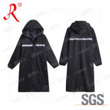 Design de moda impermeável com capa de chuva com poncho de PVC (QF-775)