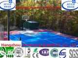 De in reliëf gemaakte Bevloering van het Basketbal van de Absorptie van de Schok van de Ader Verwijderbare