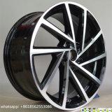 """17 """" - 19 """" rotella della lega della replica di VW dell'alluminio 5*112 per golf"""