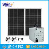 миниая домашняя солнечная система солнечнаяа энергия систем освещения 100W