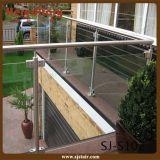 Aste della ringhiera di vetro dell'acciaio inossidabile/inferriata di vetro per il balcone (SJ-S102)
