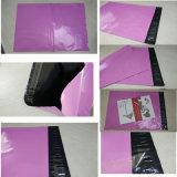 Envelope plástico Resealable da cor roxa por atacado material nova