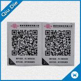 Escritura de la etiqueta rica del papel de la etiqueta engomada del laser del color para el conjunto/la ropa del alimento