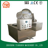 Máquina de fritura comercial e frigideira profunda do restaurante para o alimento do petisco