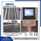 установка лазерной резки с оптоволоконным кабелем металла с ЧПУ Lm4020h3 с полной защиты