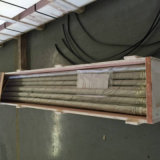 10mmのGalfan+PA12上塗を施してある単一の壁のBundyの熱い浸された管