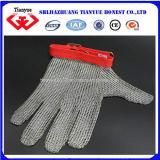 Anti des gants de sécurité en acier inoxydable de coupe