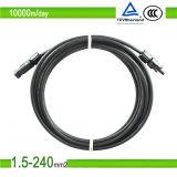 Залуживанный медный кабель проводника 4mm 6mm 10mm PV1f PV солнечный