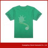 Camisas de te de la impresión de la pantalla de seda de la fábrica del OEM para la promoción con su propia insignia (R46)