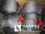 Eslinga de la cuerda de alambre de acero inoxidable con los ganchos de leva
