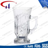 200ml heet verkoop de Gegraveerde Kop van het Glas voor Koffie (CHM8157)