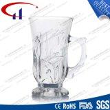 tazza di vetro incisa vendita calda 200ml per caffè (CHM8157)