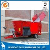Вертикальная полная машина смесителя рациона с автоматическим поручая лопаткоулавливателем для обрабатывать питания коров