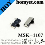 China Manufacturers Slide Switch com tipo DIP (msk-1107)