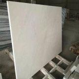 La vanità di marmo bianca supera il controsoffitto prefabbricato della stanza da bagno