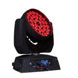 36PCS*10W LEDの移動ヘッドライト--フルカラーズームレンズ