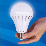 Bulbo recarregável do diodo emissor de luz da emergência de E27 5W-12W com bateria de lítio