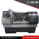 CNC는 자동적인 바 지류, GSK 관제사 Ck6150A와 함께 사용된 CNC 선반을 선반으로 깎는다