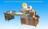 Hochgeschwindigkeitsgesichtsfluss-Verpackungsmaschine der schablonen-3-Side Selbst