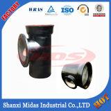 ISO2531 en545, EN598, BS4772 ковких чугунных чугунные тройник Socket-Spigot филиала с фланцем