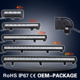 "11 ""60W 4800lm einreihig Heavy Machinery LED Light Bar"
