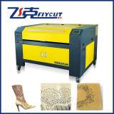 販売のための革レーザーの彫版の打抜き機
