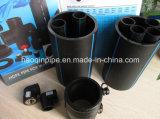 225mm Pn10 물 공급을%s 플라스틱 관 PE 관