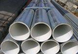 Hecho en China, tubo de acero del plástico de la guarnición