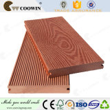 Outdoor China WPC 3D Embossing de madeira sólida Plastic Composite Decking