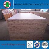 A melamina branca Falcata Core Blockboard para uso de mobiliário