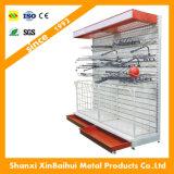 Am meisten benutztes justierbares Metallhilfssupermarkt-Regal