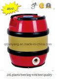 barril de cerveja plástico de 5L 15L 20L 25L