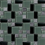 Banheira de mármore mistos de vidro Venda Mini-Versailles Mosaico Mosaico