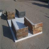 자신 공장에서 자연적인 슬레이트 벽 클래딩 문화적인 돌
