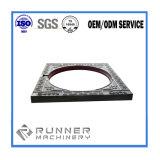 OEMの鋼鉄精密投資鋳造はCNCの機械化の部品を分ける